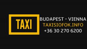 Bécs és Budapest között is remek választás vagyunk reptér transzferben!